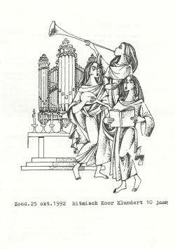 10-jarig jubileum kerkboekje